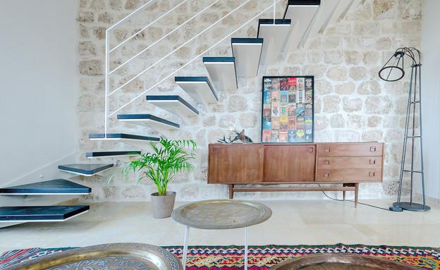 לופט ביפו, מדרגות (צילום: אלכס לובימוב)