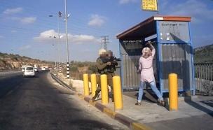 תיעוד ניסיוון הפיגוע סמוך לאריאל