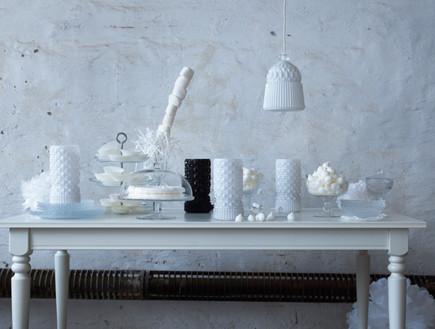 VANADIN מנורת שולחן ומנורת תלייה לאור רך ונעים במיוחד