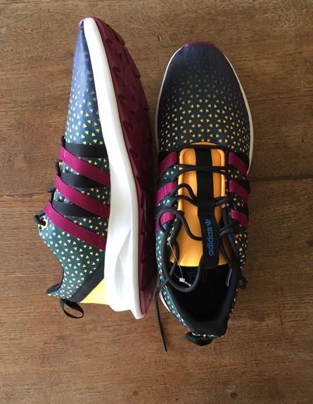 נעלי אדידס (צילום:  גל אוחובסקי)