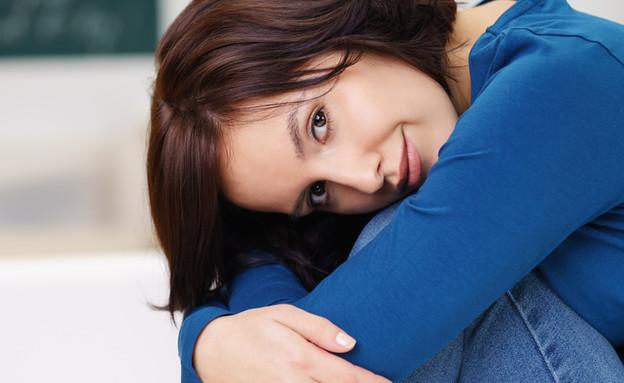 אישה מופנמת (צילום: racorn, Shutterstock)