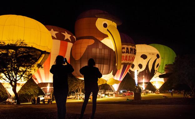 פסטיבל כדורים פורחים (צילום: רפי קורן,  יחסי ציבור )