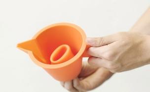 משפך כלי (צילום: Kitchen Funnel)