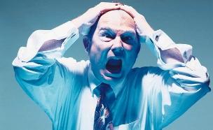 עצבני (צילום: Stockbyte, GettyImages IL)