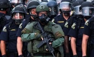 הפגנות שחורים בלואיזיאנה (צילום: חדשות 2)