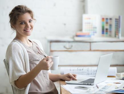 עבודה מהבית (אילוסטרציה: Shutterstock)