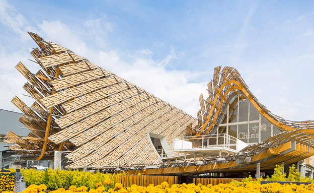 China Pavilion for Expo Milan, Milan, Italy (צילום:  Studio Link-Arc)