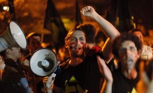 הפגנה של המחאה החברתית ב-2011 (צילום: אמיל סלמן, TheMarker)