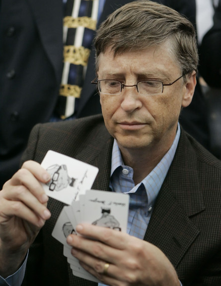 ביל גייטס (צילום: נתי הרניק ap)