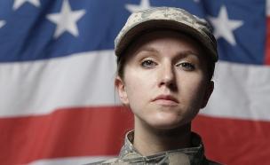 """לוחמת בצבא ארה""""ב (צילום: ShutterStock)"""