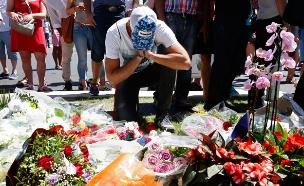זירת הפיגוע בניס, היום (צילום: רויטרס)