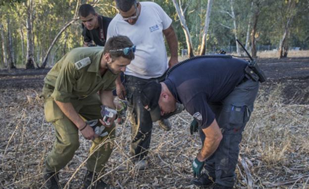 ירי הפטריוט ברמת הגולן (צילום: פלאש 90, באסל אווידאת)