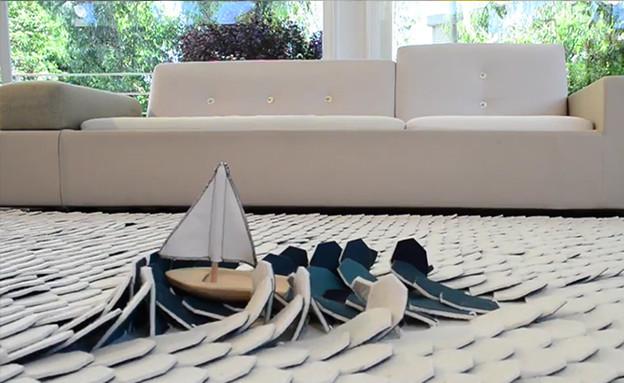 שטיח של ניב כהן (צילום: שני פלג ונירי לוי)