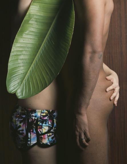 בצלאל, בר שארמה, עלה בננה, צילום בר שארמה (צילום: בר שארמה)