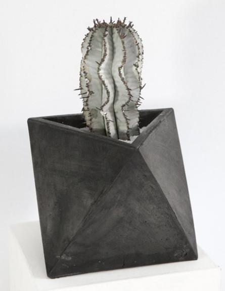 עציץ, מחיר-191 שקל (צילום: ConcreteGeometric, etsy.com)