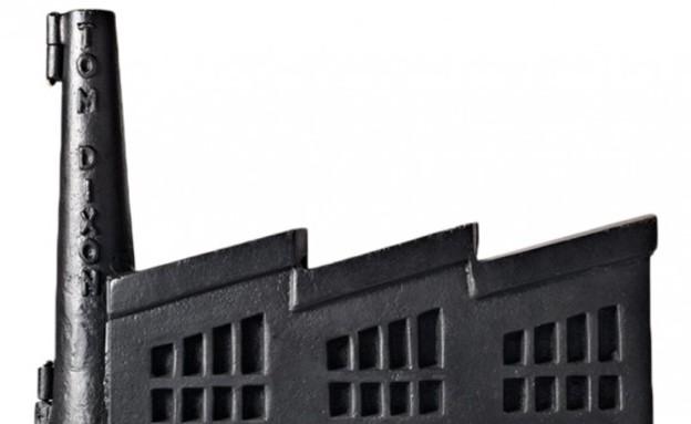 קופת חסכון בצורת מפעל של Tom Dixon, מחיר-740 שקל (צילום: SETI)