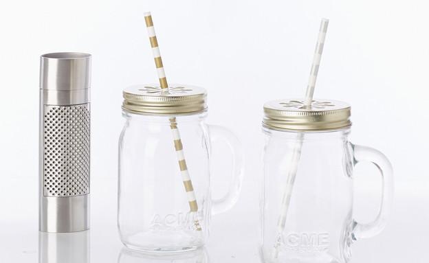 כוס שתייה עם קש, מחיר-147 שקל לזוג (צילום: fab.com.png)
