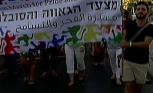 הרבנים שתומכים ב'נאום הסוטים' (צילום: מתוך חי בלילה, שידורי קשת)