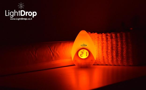 מד טמפרטורה לתינוק (צילום: LightDrop)