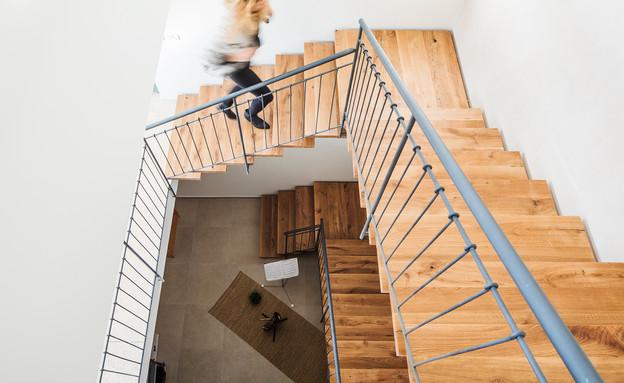 שלומית גליקס, מדרגות (צילום: אביעד בר-נס)