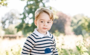 הנסיך ג'ורג' (צילום: PA)