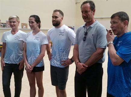 נבחרת ההתעמלות מוכנה לריו (צילום: ספורט 5)