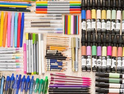 אוספי מעצבים,  כלי_כתיבה1_-מיכל_דרעי-וימן (צילום: מיכל_דרעי-וימן)