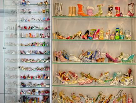 אוספי מעצבים, נעליים_מיניטוריות-אורית_שרמן (צילום: אריה המר)
