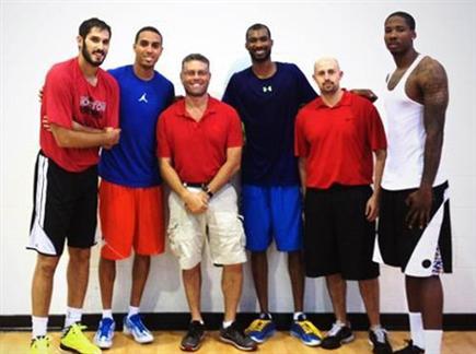 פאנון עם כספי וכוכבי NBA. מצטרף לירושלים (צילום: ספורט 5)