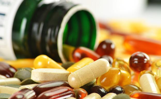 ויטמינים, כדורים (צילום: ShutterStock)