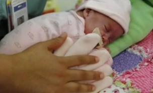 the zaky: פטנט לתינוק פג (צילום: יוטיוב)