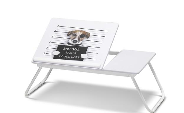 שחור לבן, שולחן לפ טופ, 99 שקלים, רשת אורבן (צילום: ישראל כהן)