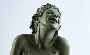 הביאנלה לקרמיקה, עבודה של רונית ברנגה (צילום: לאוניד פדרול)