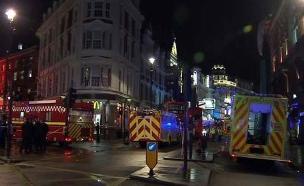 לונדון, ארכיון (צילום: Sky News)