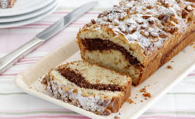 עוגת שיש אגוזים  (צילום: נטלי לוין, אוכל טוב)