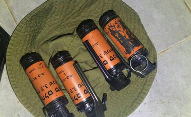 """האמל""""ח שנתפס בבתי הנאשמים (צילום: דוברות המשטרה)"""