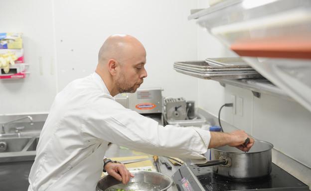 השף ז'יל צ'סנאו ממסעדת ספרינ, פריז (צילום: Craig Barritt, GettyImages IL)