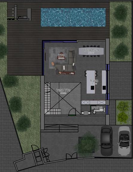 תוכנית קומה א׳ (צילום: דורית סלע)