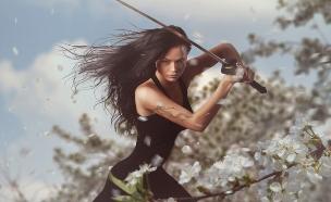לוחמת (צילום: Shutterstock, מעריב לנוער)