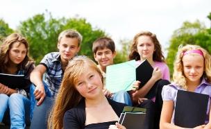 תלמידי תיכון (צילום: Shutterstock)