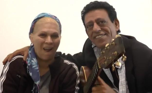 שימי תבורי ויהודית באומן מדברים (צילום: מתוך אנשים)