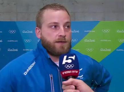 """ריכטר. """"התכוננתי הרבה שנים ולא הצלחתי"""" (הוועד האולימפי) (צילום: ספורט 5)"""