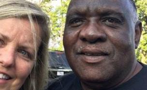 אליס היל ובת זוגו (צילום: CNN)