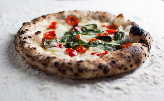 פיצה פרסקה (צילום: דניאל לילה, אוכל טוב)