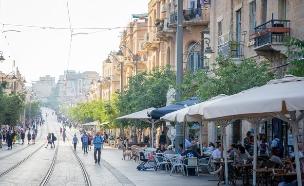רחוב יפו בירושלים (צילום: badahos, Shutterstock)