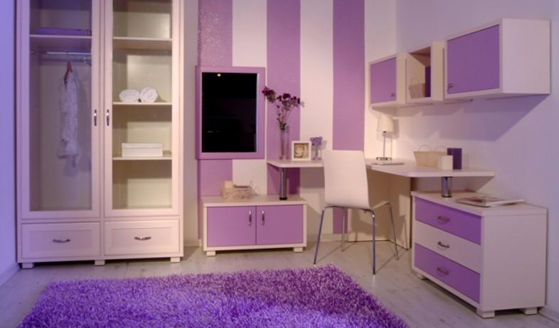 טרנדים חדר סגול (צילום: riviera.co.il)