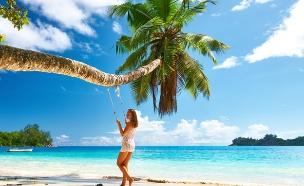 נדנדה על החוף (צילום: haveseen, Shutterstock)