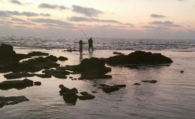 רונה קמרלינג ודייג (צילום: תומר קמרלינג, mako חופש)