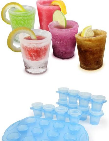 מגשי קרח, כוסות שוט מקרח  (צילום: bitrebels.com)