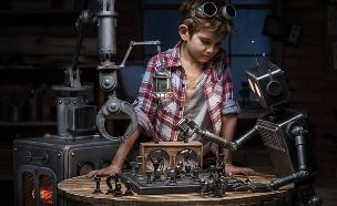רובוטים הם חברים (צילום: Shutterstock/ Vasilyev Alexandr)